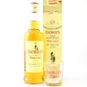 Dewar's White Label / Including Glass