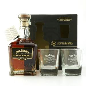 Jack Daniel's Single Barrel Select Gift Pack / Including Glasses