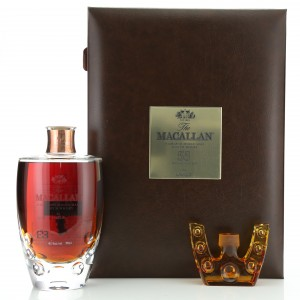 Macallan 55 Year Old Lalique Six Pillars Collection No.2