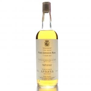 Long Pond 9 Year Old Averys for Corti 'Vale Royal' Jamaican Wedderburn Rum 1970s / US Import