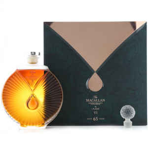 Macallan 65 Year Old Lalique Six Pillars Collection No.6 / Bottle 2