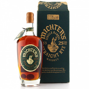 Michter's 25 Year Old Single Barrel Rye 2014