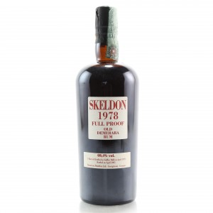 Skeldon 1978 Full Proof 27 Year Old Demerara Rum