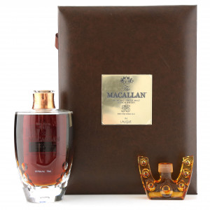 Macallan 55 Year Old Lalique Six Pillars Collection 75cl / US Import