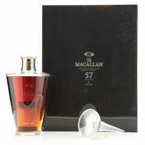 Macallan 57 Year Old Lalique Six Pillars Collection 75cl / US Import