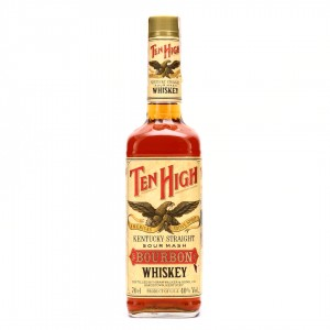 Ten High Kentucky Straight Bourbon 1990s