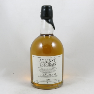 Glencadam 1987 Against the Grain 18 Year Old front