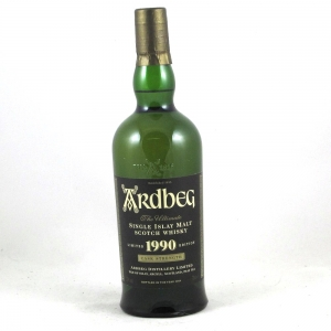 Ardbeg 1990 Cask Strength (Bottled 2004) Front