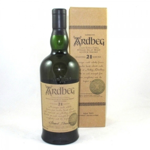 Ardbeg 21 Year Old (Committee Bottling) Front