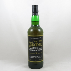 Ardbeg Guaranteed 30 Year Old front