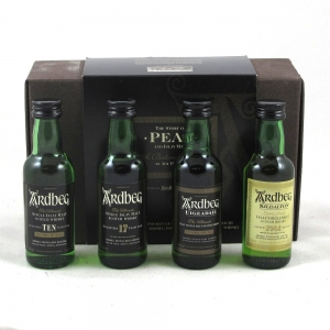Ardbeg Peat Pack 4 x 5cl Front