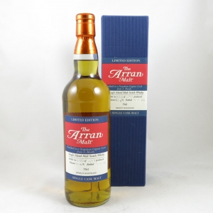 Arran Napoleon Cognac Single Cask front