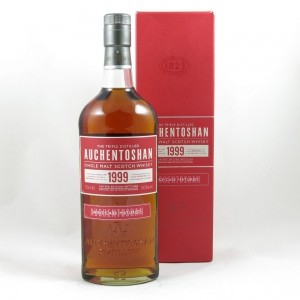 Auchentoshan Bordeaux Cask 1999 Limited Edition front