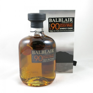 Balblair 1990 Single 'Peated' Cask front