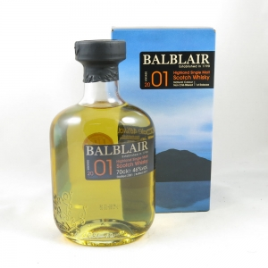 Balblair 2001 front