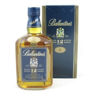 Ballantines 12 Year Old Special Reserve 75cl front