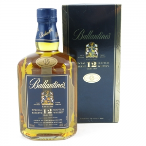Ballantines 12 Year Old Special Reserve 1 Litre Front