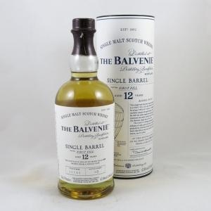 Balvenie Single Barrel 12 Year Old front