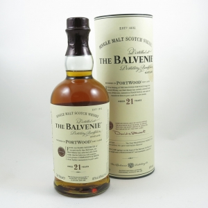 Balvenie 21 Year Old Port Wood front