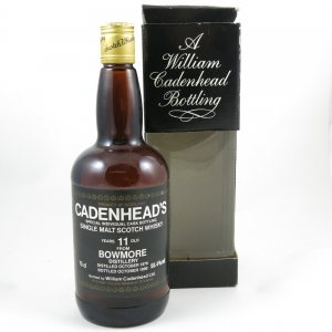 Bowmore 1979 Cadenhead's 11 Year Old Front