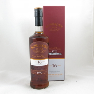 Bowmore 1992 Bordeaux Wine Cask 16 Year Old front