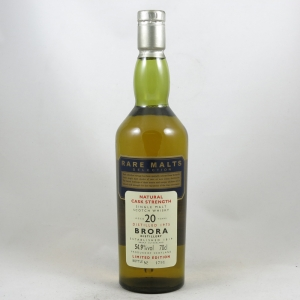 Brora 1975 Rare Malt 20 Year Old front