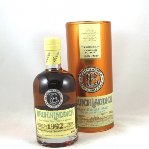 Bruichladdich 1992 17 Year Old T.B.Watson's Centenary Front