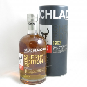 Bruichladdich 1992 Fino Sherry Edition front