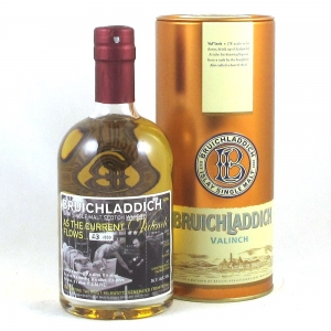 Bruichladdich 1998 Valinch As the Current Flows Front