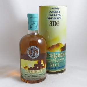 Bruichladdich 3D3 Norrie Campbell Tribute front