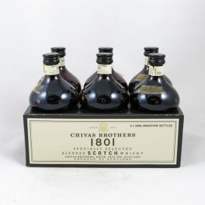 Chivas Revolve 1801 Miniatures x 6