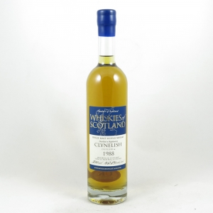 Clynelish 1988 Duncan Taylor (Whiskies of Scotland) front