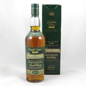 Cragganmore 1990 Distillers Edition 2003 front
