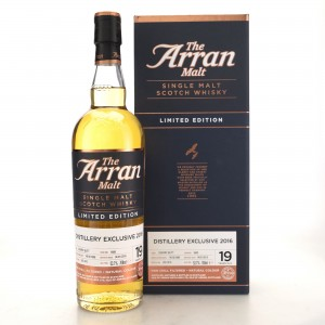 Arran 1996 Single Sherry Cask 19 Year Old #1609 / Distillery Exclusive