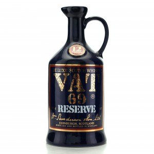Vat 69 Reserve 12 Year Old Decanter 1980s