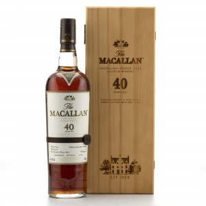 Macallan 40 Year Old 2016 Release