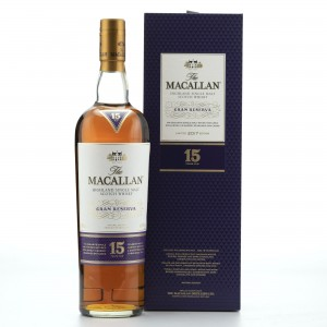 Macallan 15 Year Old Gran Reserva
