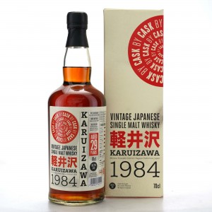 Karuizawa 1984 Single Cask 29 Year Old #7802 / Cask by Cask