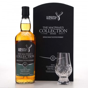 Glenrothes 40 Year Old Gordon and MacPhail 75cl Gift Pack / US Import