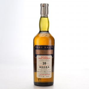 Brora 1975 Rare Malt 20 Year Old 75cl / 59.1%