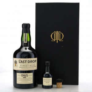 The Last Drop 1960 Blended Whisky / Including Miniature