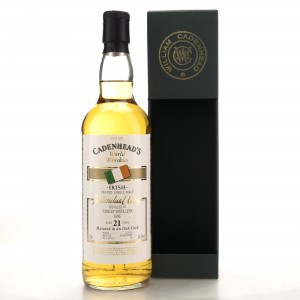 Cooley 21Year Old Cadenhead's Peated