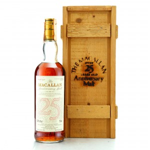 Macallan 1964 Anniversary Malt 25 Year Old / Giovinetti Import