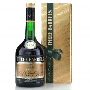 Three Barrels VSOP French Brandy
