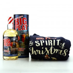Big Peat Cask Strength Christmas Edition 2019 with Jumper