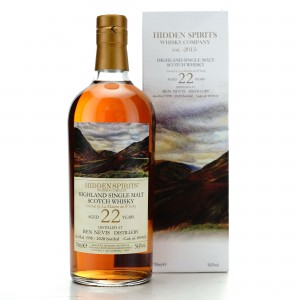 Ben Nevis 1998 Hidden Spirits 22 Year Old / LMDW