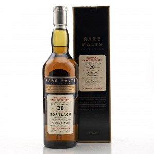 Mortlach 1978 Rare Malts 20 Year Old / 62.2%