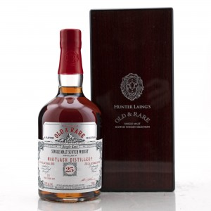 Mortlach 1992 Hunter Laing 25 Year Old / Old and Rare