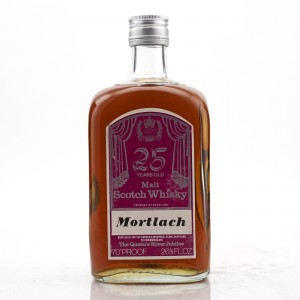 Mortlach 25 Year Old Gordon and MacPhail Queen's Silver Jubilee 1977