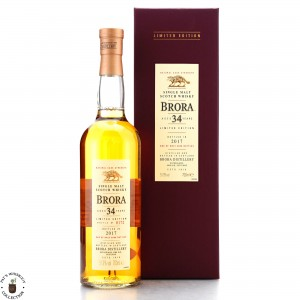 Brora 34 Year Old 2017 Release